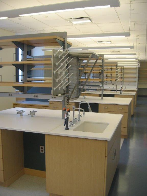 Columbia University OBGYN Lab Work Surfaces, Sinks, & Accessories- New York CIty