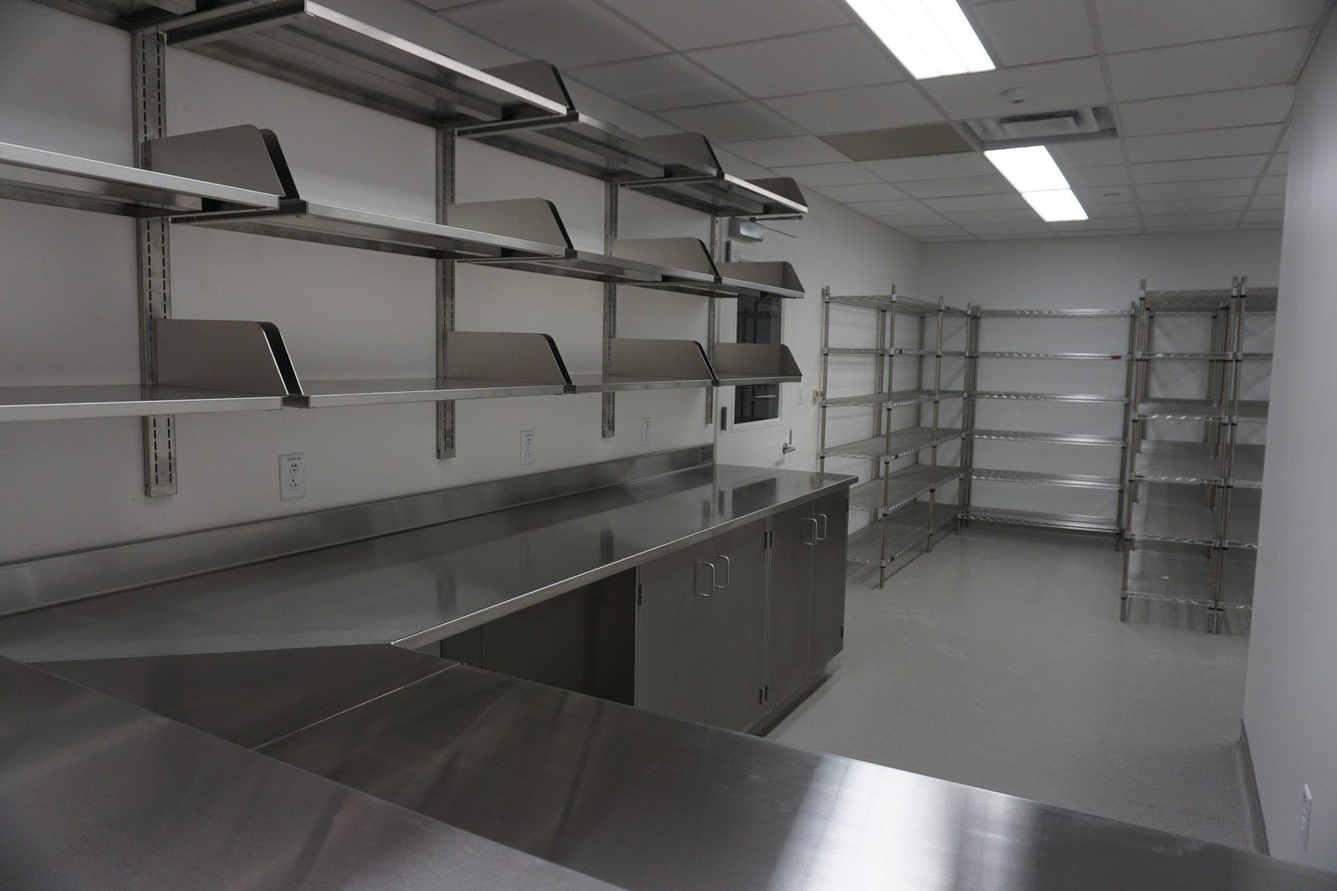 Lab Work Surfaces in Rutgers University SDM- Newark, NJ
